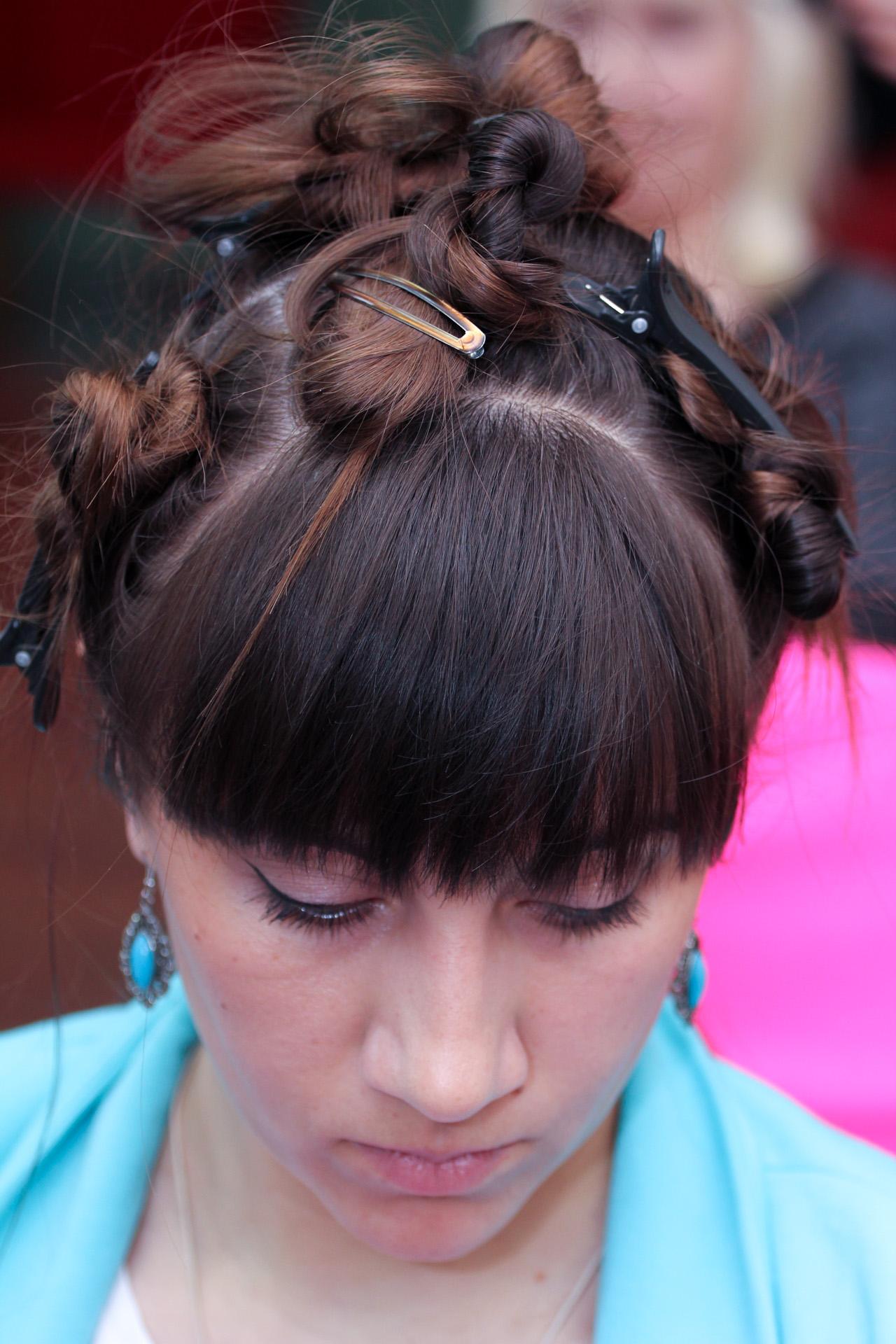 Свадебные причёски в виннице